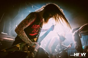 Suicide Silence - Straight Outta Hell Tour 2016. Woolly Mammoth, Brisbane.