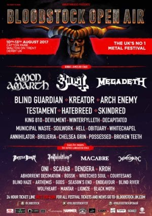 Bloodstock announce bands