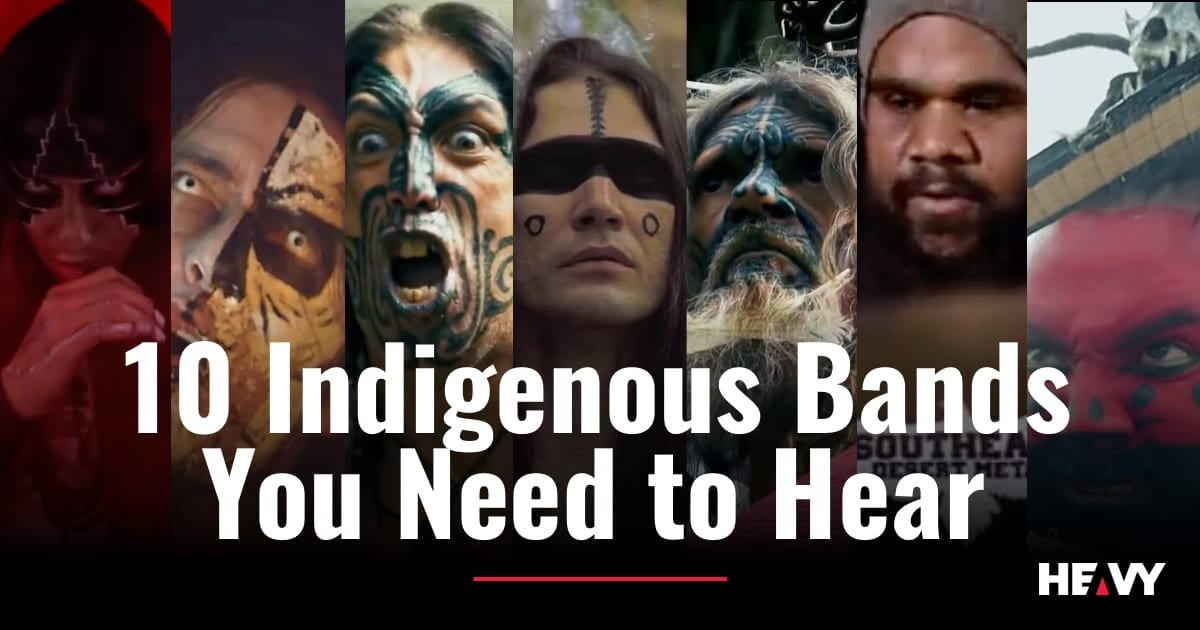 10 Indigenous Bands cover
