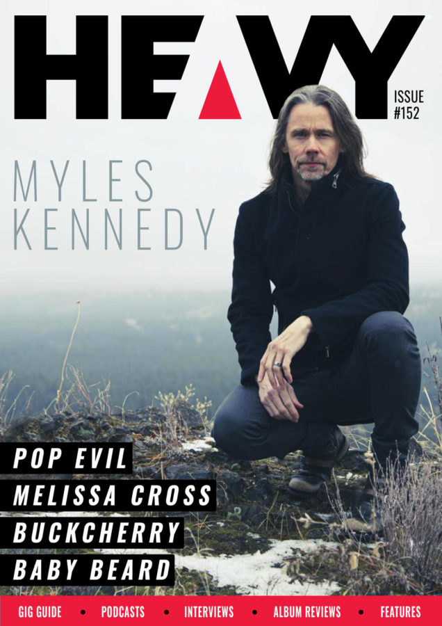 Heavy Magazine cover with Myles Kennedy