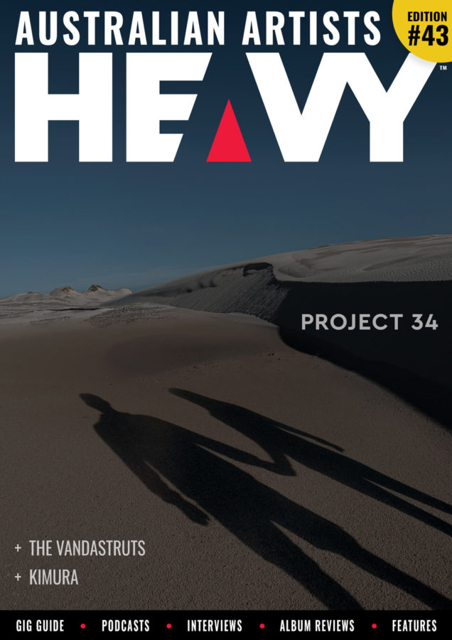 HEAVY Magazine cover with Project 34