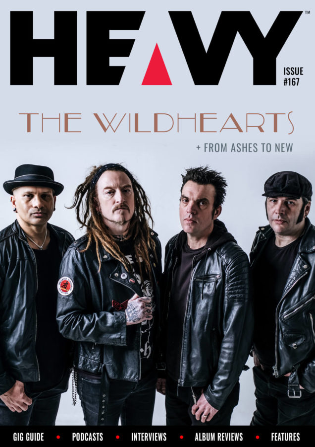 HEAVY Magazine cover with The Wildhearts